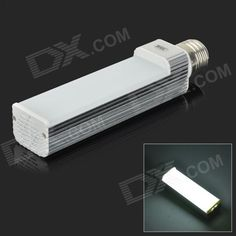 Color: Silver + Ivory; Color BIN: White; Brand: JRLED; Model: JR-LED-2835-52D; Material: Plastic + aluminum; Quantity: 1 Piece; Power: 11W; Rated Voltage: AC 85-265 V; Connector Type: E27; Chip Brand: Huga; Chip Type: 2835; Emitter Type: Others,2835 SMD LED; Total Emitters: 52; Theoretical Lumens: 1000 lumens; Actual Lumens: 600-900 lumens; Color Temperature: Others,6000-6300K; Dimmable: no; Beam Angle: 140 °; Wavelength: N/A; Certification: N/A; Packing List: 1 x LED lamp…