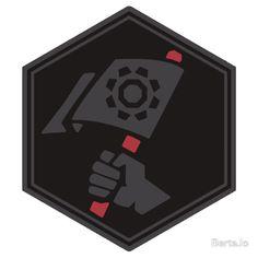Pioneer Onyx Medal-Sticker