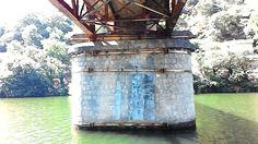 Under the bridge. Mino-river Spain (Photography M.Baan, 2015)