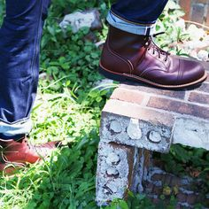 Red Wing Shoes | Oxblood Iron Ranger | 8119