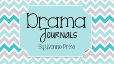 Drama Journal Assignment This assignment is the perfect assessment for your Drama classes! This assignment provides personal reflection on growth and challenges during classes. You could assign this as a daily, weekly or monthly assignment. Included in this package: - Student journal assignment handout - Marking rubric - Sample journal starters - Journal question posters *Please take note, that this is the same assignment found within my Drama units. ************************* Check ...