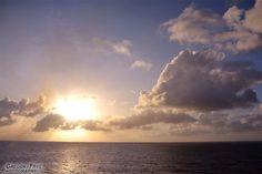Caribbean Sunrise  Photo of: Sunrise Over The Ocean near Ocho Rios, Jamaica