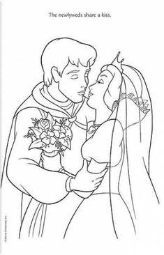 Disney princess wedding coloring pages Cinderella Coloring Pages, Disney Princess Coloring Pages, Disney Princess Colors, Disney Princess Snow White, Snow White Disney, Disney Colors, Snow White Coloring Pages, Wedding Coloring Pages, Colouring Pages
