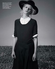 """""""The Simple Life"""" Rijntje Van Wijk for Marie Claire France May 2015"""