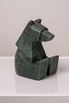 The Content Sitting Bear Canadian Soapstone W x L x H Jason Carter, 2018 SOLD sculpture Rock Sculpture, Sculptures Céramiques, Soapstone Carving, Soap Carving, Whittling, Glazed Ceramic, Clay, Pottery, Hand Reference