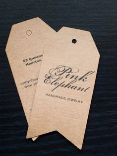 Custom printing- arrow tags- s+h included in the price