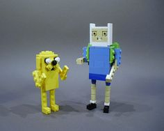 Adventure Time - Finn and Jake by Ochre Jelly, via Flickr