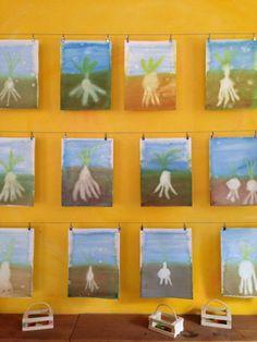 sprout art- The Waldorf School of Philadelphia Grade 3, Third Grade, Wet On Wet Painting, Old Testament, Biomes, 5th Grades, Art Lessons, Philadelphia, Classroom Ideas