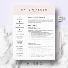 Professional Resume CV template for Ms Word & Mac Pages Cover Letter Format, Cover Letter Template, Cv Template, Letter Templates, Cover Letters, Resume Layout, Resume Cv, Resume Writing, Resume Design