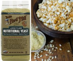 What is it? Wednesday: Nutritional Yeast. AKA nooch, this nutritional supplement has a cheesy flavor and is a good source of B vitamins. | Bob's Red Mill || vegan, gluten free, paleo
