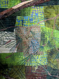 Barbara Strobel Lardon Art quilts: Background Quilting