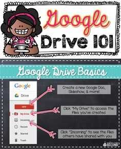 Now that our whole district has gone 1:1 with Google Chromebooks, I thought it was time to share all the neat things you can do with Google Drive. Head on over to my blog to check out how to get started!