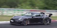 Watch the New Porsche 911 GT2 RS Rip a Hole Through Space-Time at the 'Ring