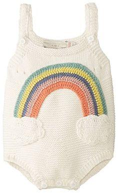 Stella McCartney Unisex-Baby Newborn Dotty Rainbow Knit Romper, Off-White, 12 Months Stella McCartney http://www.amazon.com/dp/B00RDB6800/ref=cm_sw_r_pi_dp_Ydefvb18FKQR2