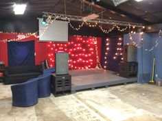 Youth Room on a Budget for a Normal Size Church #youthministry