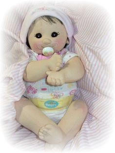 KIT and PDF Pattern  Cloth Doll by LaliDolls on Etsy, $45.00