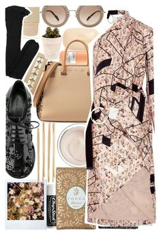 """""""Sin título #1205"""" by meelstyle ❤ liked on Polyvore featuring Davines, Cara, Sisley, Chapstick, Dr. Sebagh, Nails Inc., Tocca, St. Tropez, VBH and Preen"""