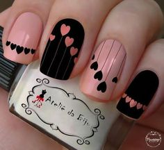 False nails have the advantage of offering a manicure worthy of the most advanced backstage and to hold longer than a simple nail polish. The problem is how to remove them without damaging your nails. Trendy Nail Art, Stylish Nails, Hot Nails, Pink Nails, Matte Nails, Pink Nail Art, Matte Pink, Black Nails, Matte Black