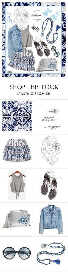 """""""Nice things perfectly tiled"""" by munascoolture ❤ liked on Polyvore featuring Boohoo, Caroline Constas, PBteen, WithChic, Anya Hindmarch, Tom Ford, Emma Watson and Armenta"""