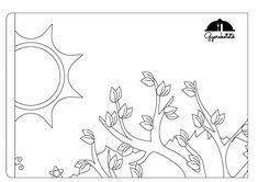 Igazi csapatmunkában várhatod a tavaszt! Töltsd le, nyomtasd ki, színezzétek, ragaszd össze, és már mehet is a falra ez a vidám, tavaszváró kép! :) Techno, Coloring Pages, Tapestry, Marvel, Home Decor, Quote Coloring Pages, Hanging Tapestry, Tapestries, Decoration Home