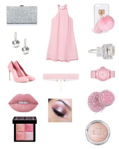 """Untitled #267"" by heather2003 on Polyvore featuring MANGO, Ashlyn'd, Too Faced Cosmetics, Fantasia by DeSerio, Miu Miu, Skechers, Lime Crime and Givenchy"