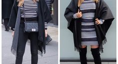 A Penny for your Poncho: Two Ways to Wear a Poncho