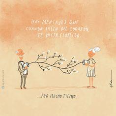 Mensajes del corazón - Aldo Tonelli Ilustración