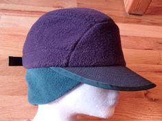 1ecb7f9593f8c PATAGONIA DUCKBILL fleece baseball winter sun hat by vintagezion