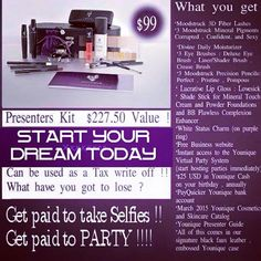 Only $99 to get over $220 worth of amazing products! What's not to love! Join my team and I will help you every step of the way to success!