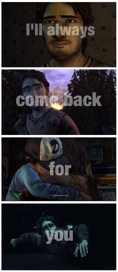 Luke and Clementine - I'll always come back for you | The Walking Dead (Telltale Game) twdg Clem #MyClementine