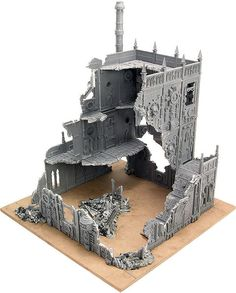 Today we'll tell you how to use modular terrain based on standard Games Workshop buildings. Warhammer 40k Tabletop, Warhammer Paint, Warhammer Terrain, 40k Terrain, Game Terrain, Wargaming Terrain, Apocalypse Aesthetic, Sculpting Tutorials, Fantasy Battle