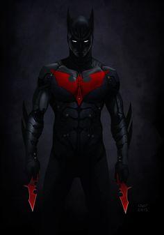 Batman art | batman beyond by wyv1 fan art cartoons comics digital books novels ...