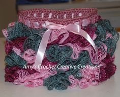 How to Crochet a Sashay Yarn Skirt, Size 2 and 4 year olds Videos