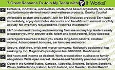 Give you 1 good reason to join me on the path to becoming financially free?  I'll give you SEVEN!! http://cbblondiewrapyou.myitworks.com/home  #makingmoney #sorich #workfromhome #extraincome #financialfreedom #debtfree #itworks
