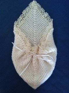 Angel Pocket knit pattern for especially tiny stillborn baby