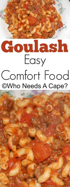 Sometimes you just need comfort food and Goulash will remind you of moms cooking, maybe even grandmas. Delicious and easy, perfect weeknight meal.