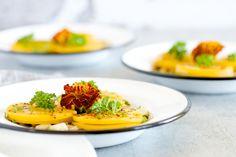 Butternut Squash Ravioli with Sautéed Mushrooms (Grain-Free)