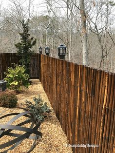 Japanese Garden Bamboo Fence Housepitality Designs Love This Bamboo Fence