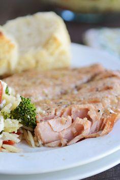 Tender Grilled Salmon {or Foil-Baked}