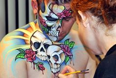 Arizona Face Painting...I Love Her Work!