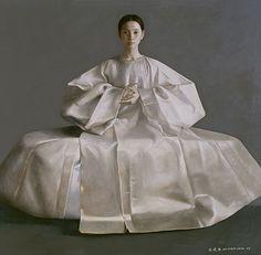 painting by Lu Jian Jun.