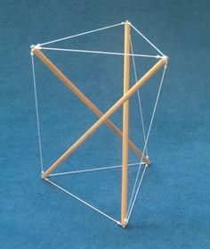 Tensegrity: sticks and rope