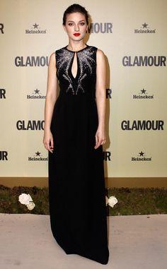 Decimo aniversario de la revista Glamour: María Valverde de Dsquared2