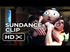 clip from 'Frank'. It's hard to imagine anyone would want to cover up Michael Fassbender's face. Pop Musicians, Domhnall Gleeson, Maggie Gyllenhaal, Michael Fassbender, Films, Movies, Mysterious, Comedy, Mystery