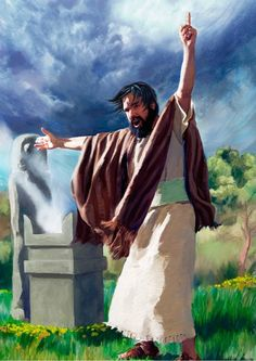 The prophet Zephaniah tells Jehovah's message to the people of Judah