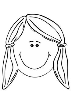 Fun Printable Coloring Page Blank Face Fun For