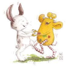 www.angela-kommoss.de #kinderbuchillustration #Glücksbuch