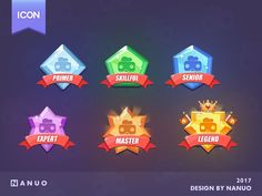 Game Icon Design designed by Nanuo🚀. Connect with them on Dribbble; the global community for designers and creative professionals. Game Concept, Character Concept, 3d Character, Badge Design, App Design, Pixel Art, Game Icon Design, Avatar, Badge Icon