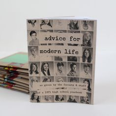 Advice for a Modern Life! Zine by Katie Licht