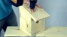 Build a Birdhouse for Under $5 in Under 5 Minutes